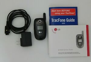 LG Flip Phone LG225 TracFone GSM UNLOCKED Battery and Charger