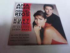 """ANA BELEN MIGUEL RIOS """"CANTAN A KURT WEILL"""" CD SINGLE 3 TRACKS"""