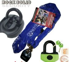 1.8 CHAIN LOCK & THATCHAM MINI-U DISK LOCK & TRITON FLIPUP ANCHOR BIKE SECURITY