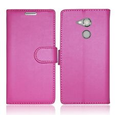 *LEATHER WALLET BOOK PREMIUM BANK CARD SLOTS PHONE CASE FOR SONY XPERIA X SERIES