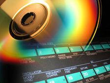 Manual e sound library x Yamaha DX7 DX 7II DX21 TX802 DX9 service + sounds patch