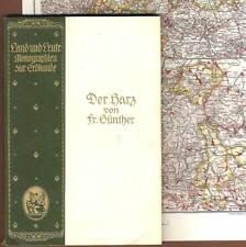 Harz Brocken Bode Goslar Halberstadt Heimat Geschichte Volkskunde 1910