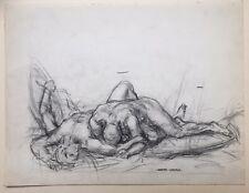 André Leroux (1911-1997) - Étude au crayon pour Fantôme de Gloire ? 1938