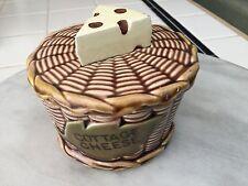 Lefton Japan vintage cottage cheese pottery basket