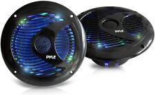 Dual Marine Speakers 6.5'' 150w Watts IP44 Waterproof Outdoor Audio Led Lights