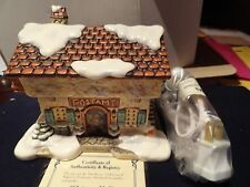 Christmas Mail ceramic cottage from Bavarian Village collection