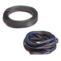 S6 4 pines del cable de alambre conector de ampliacion para la tira del RGB LED