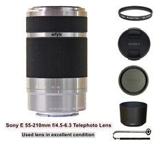 Sony E 55-210mm f/4.5-6.3 Telephoto Lens SEL55210 for Sony NEX Alpha ILCE Camera