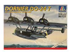 Italeri Dornier DO-24T Model Kit #122 1/72 Scale Reconnaisance Seaplane Airplane