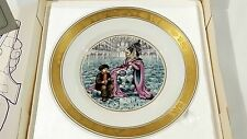 "The Hans Christian Andersen Plates 7.5"" The Snow Queen Collectible"