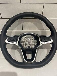 VW Transporter T6.1 Multifunctional Flat Bottom Leather Steering Wheel