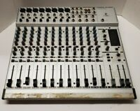 BEHRINGER EURORACK MX2004A-ULN SOUND MIXER NO POWER CORD PLEASE READ