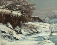 Gustave Courbet Winter Giclee Art Paper Print Paintings Poster Reproduction