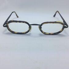 a1fd7f13ce Unique Fossil Zepher Eyeglasses Frames Black Leopard Print 45-19-130