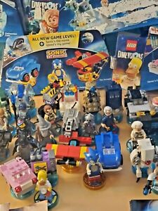 Large Set Lego Dimensions 37 Characters 13 Sets Starter Portal