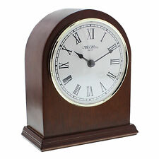 Wooden Traditional Desk, Mantel & Carriage Clocks