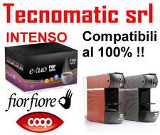 100 CAPSULE CAFFE POP INTENSO FORTE COMPATIBILI FIOR FIORE COOP ILLY MITACA MPS
