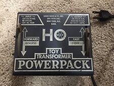 Vintage Louis Marx #6029 HO Toy Transformer Power Pack - Very Nice !