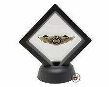 Harley-Davidson® 110th Anniversary Wing Bar & Shield Vest  pin in Display Case