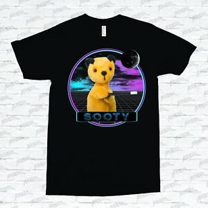 Sooty T-shirt Throwback Sooty Show Childrens TV 90's Puppet Sweep Soo Learning