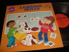SING & LEARN<>LANGUAGE SKILLS<>LP Vinyl~USA Pressing<>MAC MILLAN PROGRAM 09008