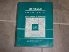 1991 Ford Mustang Shop Service Repair Manual LX GT Convertible 2.3L 5.0L V8