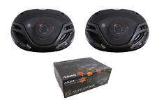 "Pair of Alphasonik 6 x 9"" 1000 Watt 4 Ohm 3-Way Full Range Coaxial Speakers AS29"