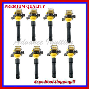 8PC HIGH PERFORMANCE IGNITION COIL EBM321Y 12139067830 12 13 9 067 830