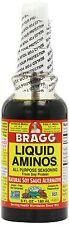 Bragg Liquid Aminos - Natural Soy Sauce Alternative, Food Seasoning, 6 fl oz