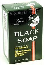 Black and White Botanical Face & Black Soap 6 oz