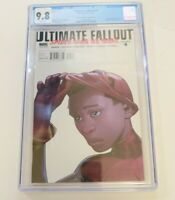 Ultimate Fallout 4 CGC 9.8 2nd print Pichelli variant 1st Miles Morales Spider