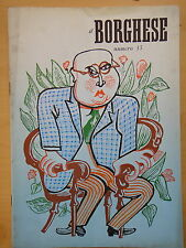 1954-IL BORGHESE-Direttore LEO LONGANESI-Anno V, Numero 33