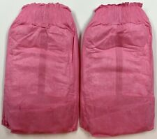 "Rare GoodNites Princess Pink Plastic Backed Diaper Pamper Shorts XL 110Lb 32"" 7"