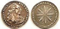 Spain-Carlos IV. proclamacion 1789. CARMONA. EBC-/XF- Plata 11,2 g. Escasa