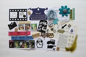Nancy Drew Mystery Custom Chipboard Mini Book Album DIY Kit Scrapbook