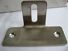 Stainless Steel 90 Degree Metal T Bracket set of six 6 100mm x 40mm 2.5mm thick