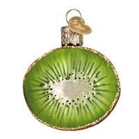 """Kiwi"" (28115)X Old World Christmas Glass Ornament w/ OWC Box"