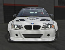 BMW E46 M3 GTR-S V1 Rivet On Wide Body Kit 2DR '01-'06 FRP Fender Flares Vented
