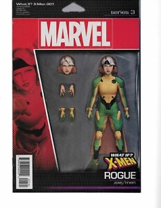What If? X-Men #1 ROGUE ACTION FIGURE VARIANT signed John Tyler Christopher NM