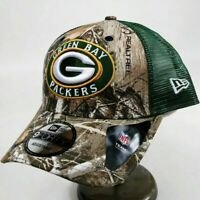 New era mens 9forty one size adjustable snapback cap Green bay packers NFL