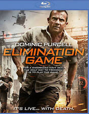 ELIMINATION GAME The MOVIE on BLU-RAY DVD of TURKEY SHOOT Remake DOMINIC PURCELL
