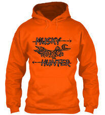 Musky Hunter Gildan Hoodie Sweatshirt