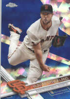 HUNTER STRICKLAND 2017 TOPPS CHROME SAPPHIRE EDITION #246 ONLY 250 MADE