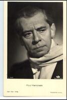 PAUL HENCKELS um 1950/60 Porträt-AK Film Bühne Theater Schauspieler Foto-Verlag