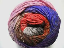 Noro Kureyon Violeta Rojo Lavanda Gris Negro Ovillo de Lana Por MADEJA 340 Lote