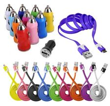 CÂBLE MICRO USB 5 PIN CHARGEUR COULEUR etou VOITURE BLACKBERRY NOKIA HTC LG SONY