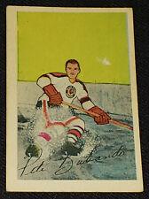 1952-1953 - PARKHURST PETER BABANDO - CHICAGO BLACKHAWKS - NHL - HOCKEY CARD #16