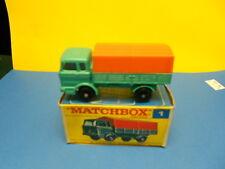Matchbox Lesney # 1 Mercedes Truck NIOB