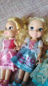 Disney Toddler Dolls x3