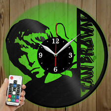 LED Vinyl Clock Ian Brown LED Wall Art Decor Clock Original Gift 2930